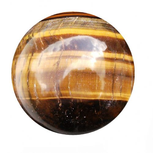 Tiger Eye Fortune Telling Crystal Ball 51mm 190g (TE1)
